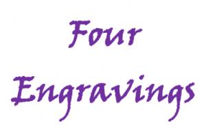 4 engravings