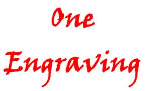1 engraving