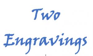 2 engravings
