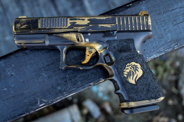 Glock 19 Gen 3 w Phoenix Custom Slide and Modified Lower